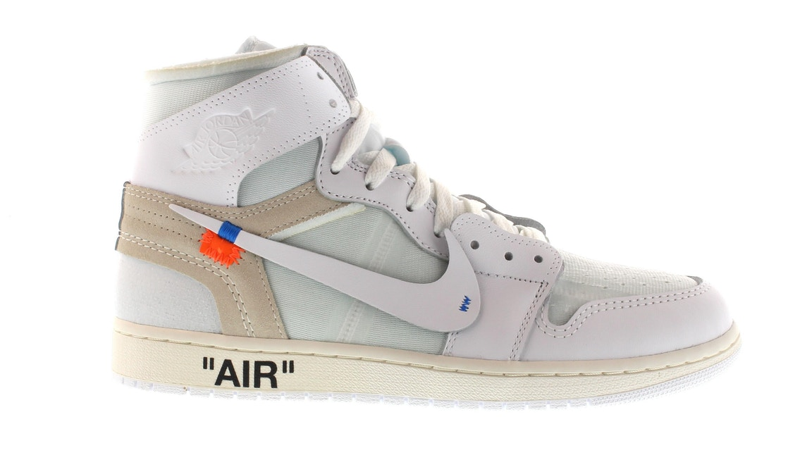 Jordan 1 Retro High Off-White White - AQ0818-100 5d76a4587