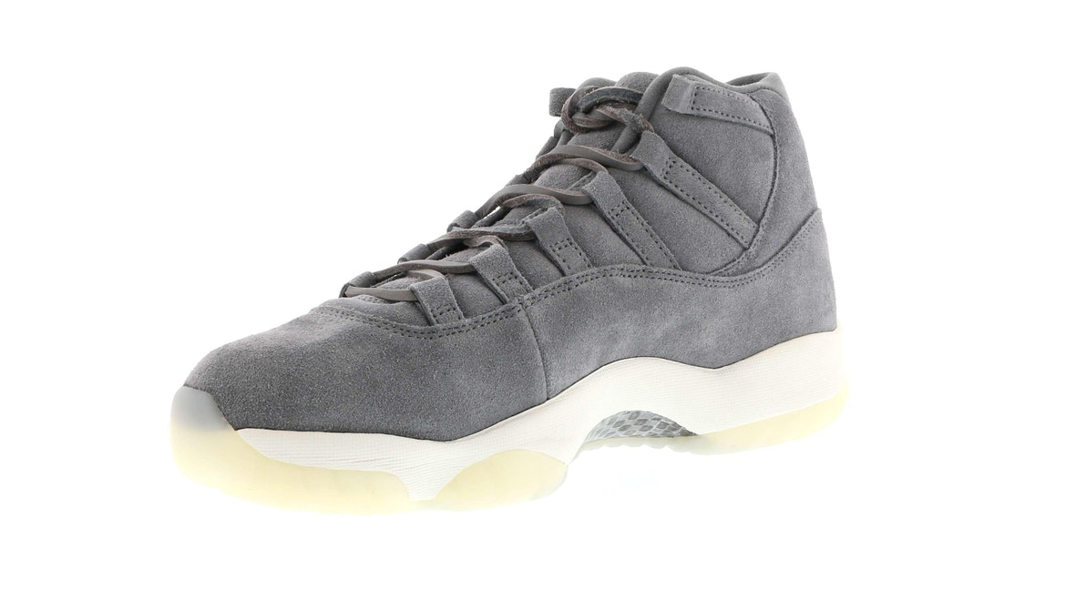 cf15af12cd248d ... jordan 11 retro pinnacle grey suede