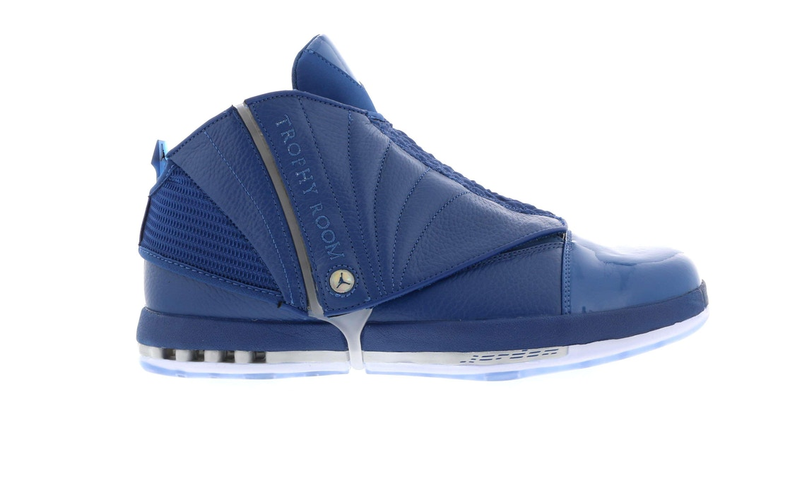 9cc5bafc4b59 Sell. or Ask. Size  12. View All Bids. Jordan 16 Retro Trophy Room French  Blue