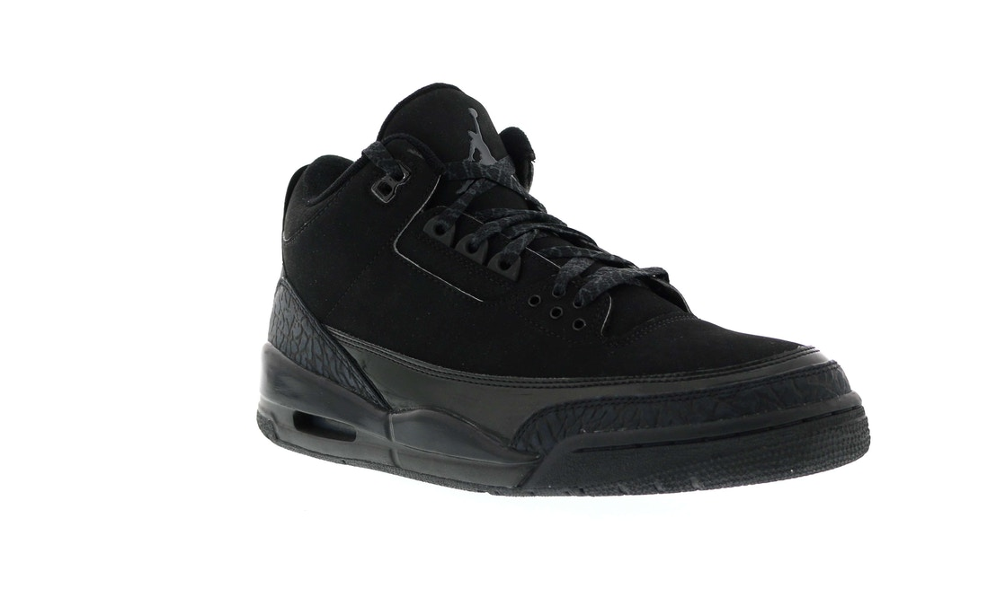 lowest price 4c582 da3f3 Jordan 3 Retro Black Cat - 136064-002