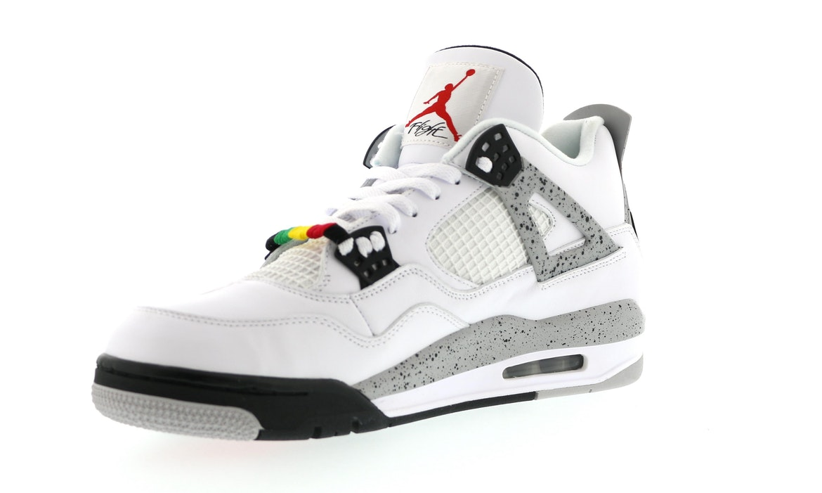 more photos 6e0df a0b4a switzerland air jordan 4 white cement do the right thing ...