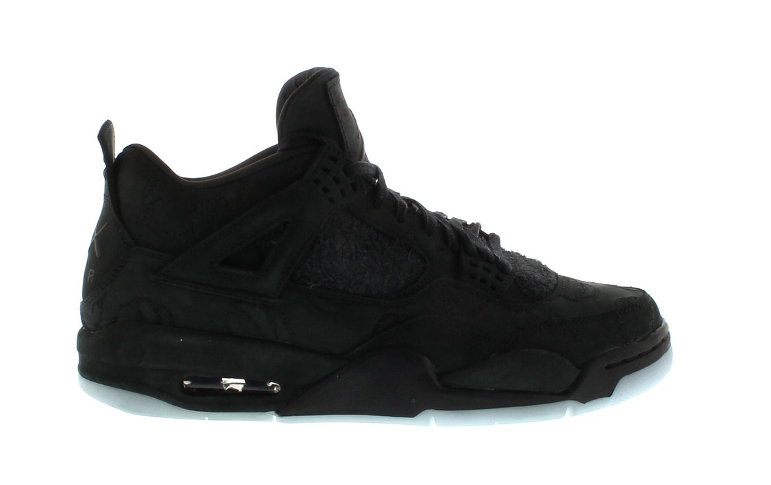 cheaper 0fb0d 86c86 Jordan 4 Retro Kaws Black