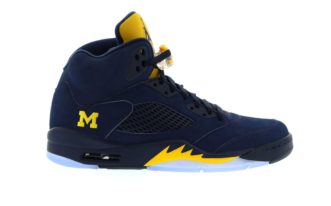 newest e6b49 dd401 Jordan 5 Retro Michigan PE - FA16-MNJDLS-636
