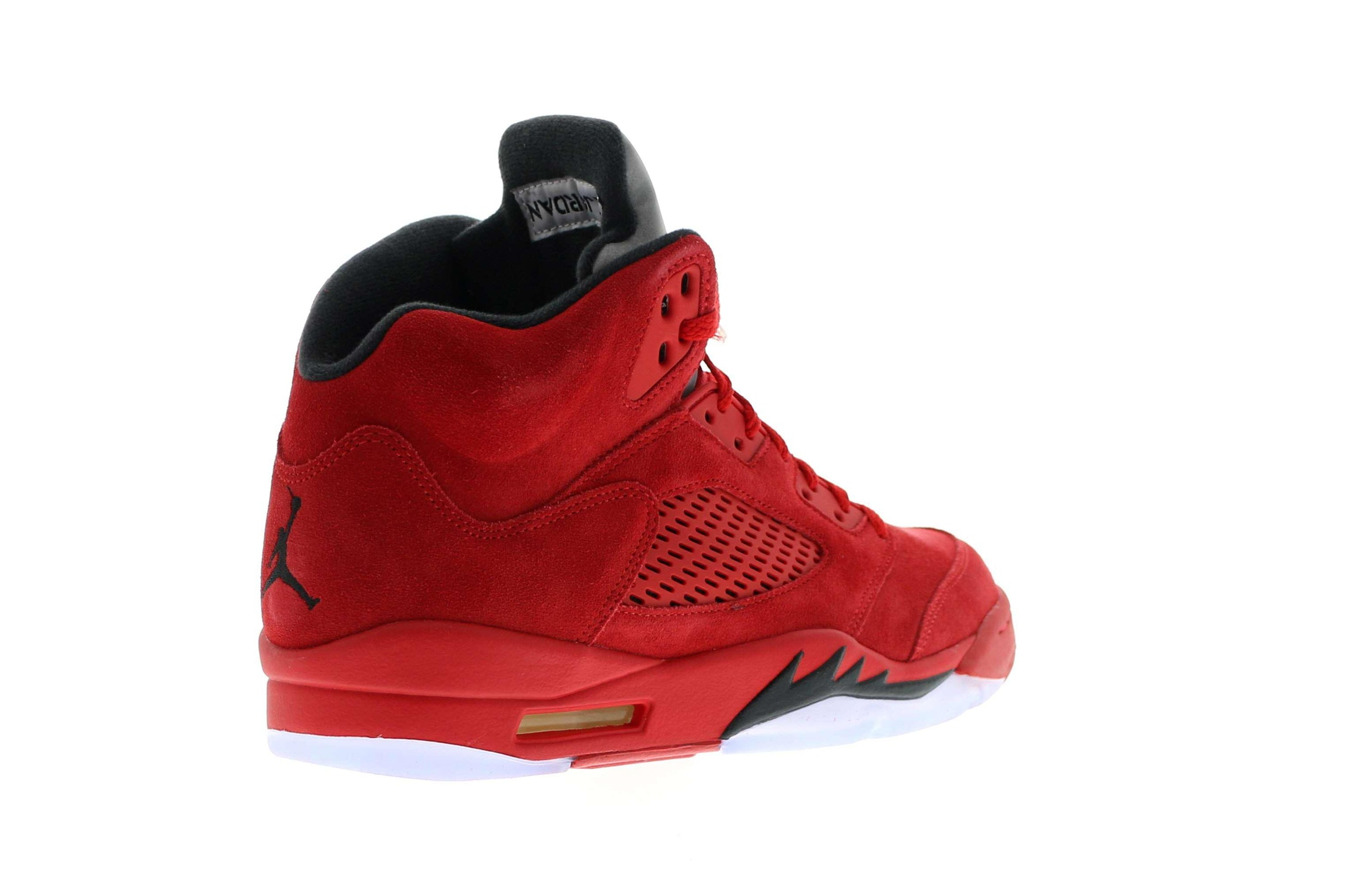 9f22a1519bcc3b ... Jordan 5 Retro Red Suede  Air ...