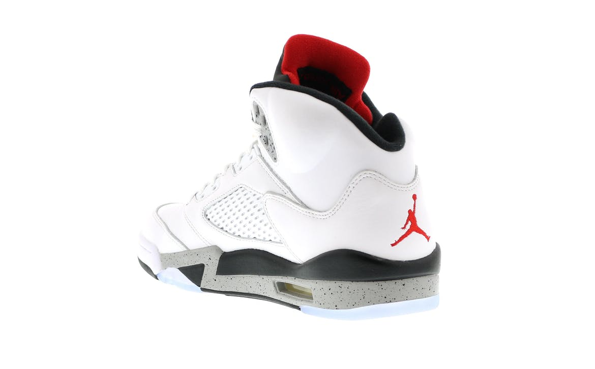 Jordan 5 Retro White Cement