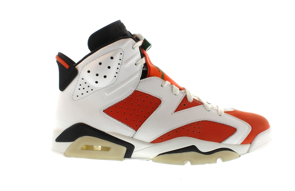 new product ba18d e8299 Jordan 6 Retro Gatorade Like Mike White - 384664-145