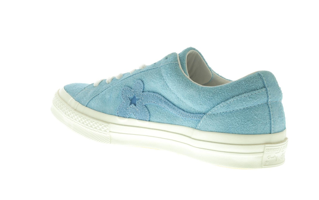 09eb9a8ea7d2 Converse One Star Ox Tyler the Creator Golf Le Fleur Bachelor Blue - 160326C