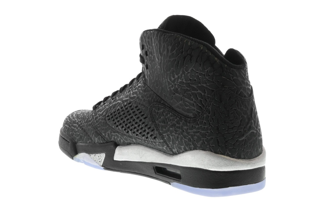 7c81b7059e51 Jordan 5 Retro 3Lab5 Black Silver - 599581-003