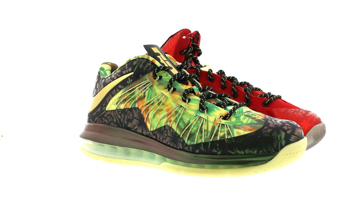 LeBron X Celebration Pack