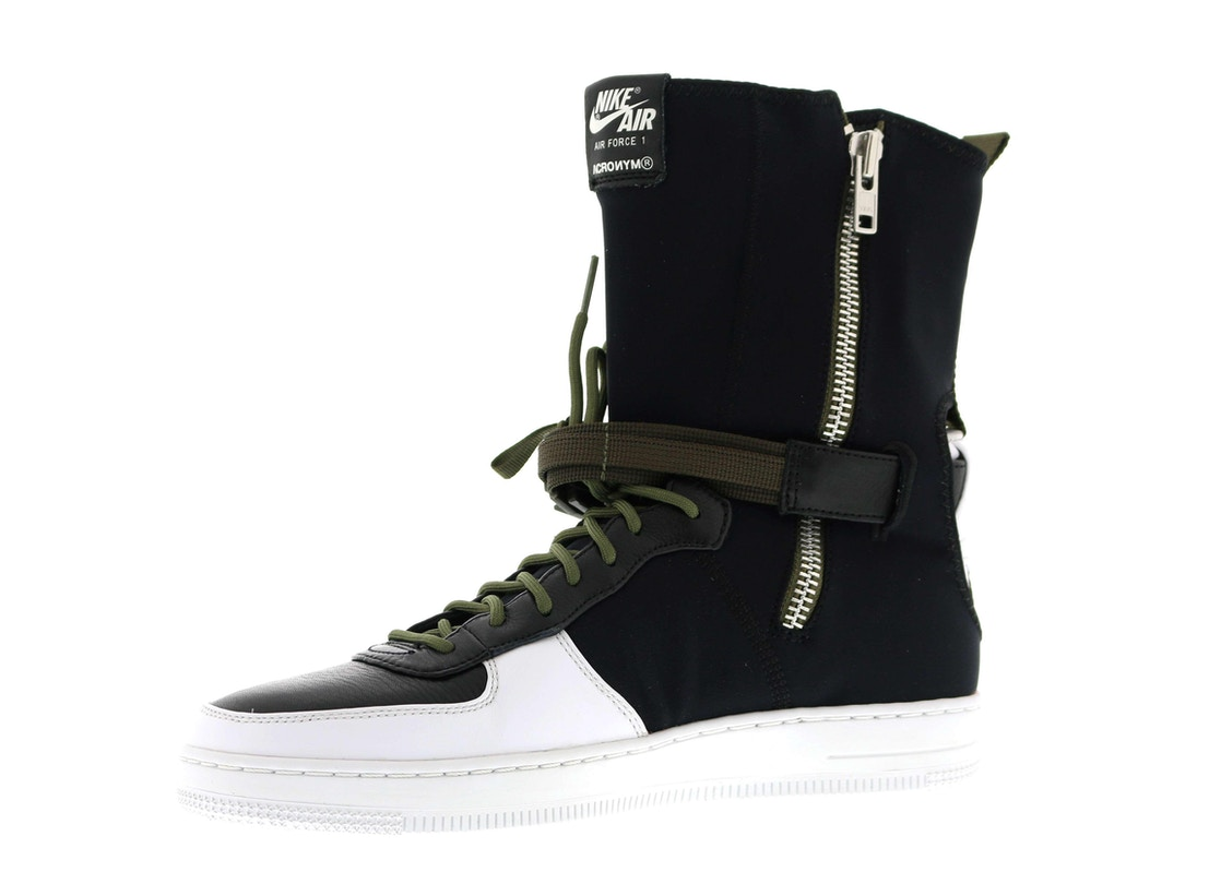 hot sale online f2928 2a482 Air Force 1 Downtown Acronym Black White
