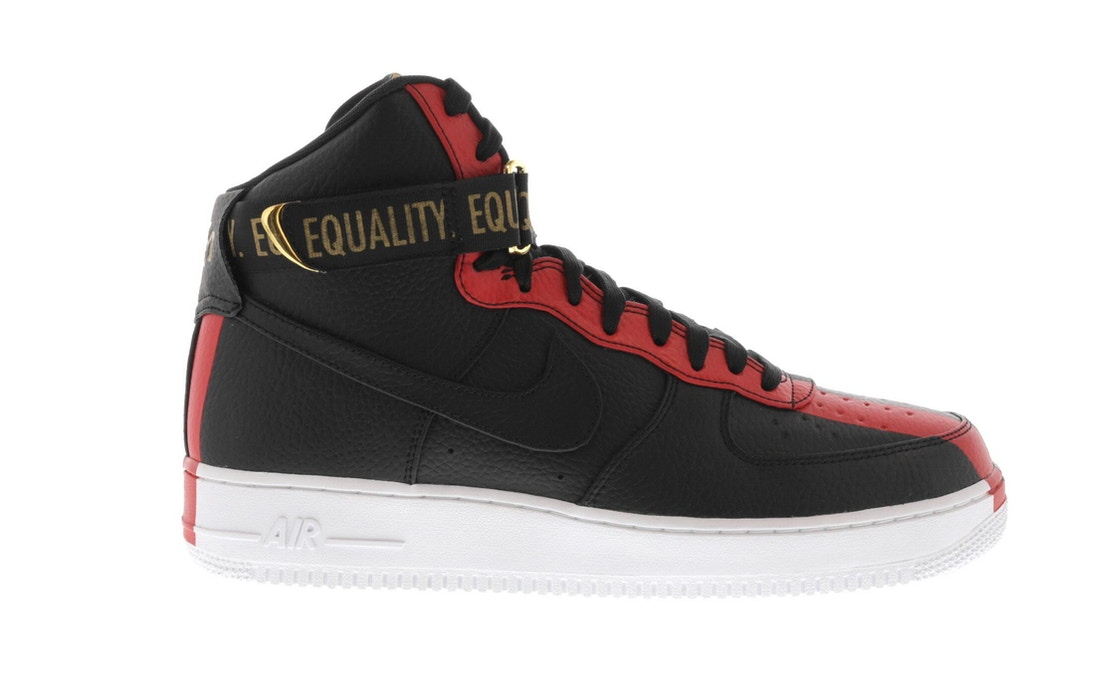 new arrivals 02c38 8f7a8 Air Force 1 High Black History Month (2018)