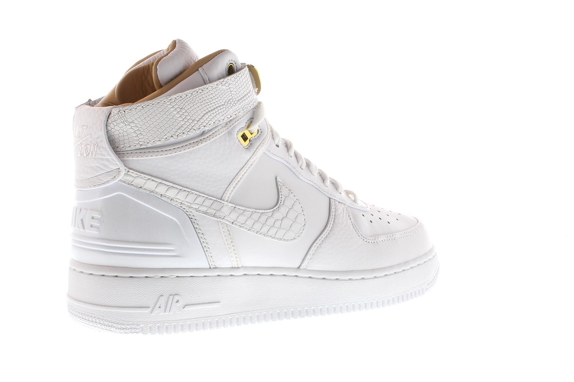 Nike AIR FORCE 1 HI JUST DON LEATHER SNEAKERS