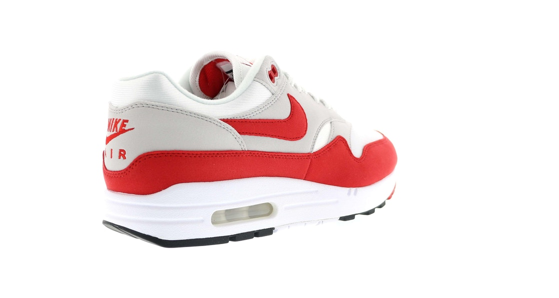 uk availability a242c 708f8 Air Max 1 Anniversary Red (2017) - 908375-100