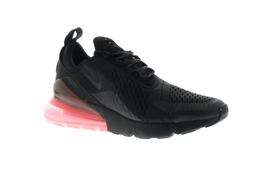 reputable site 7f9d0 95ce0 Air Max 270 Black Hot Punch - AH8050-010