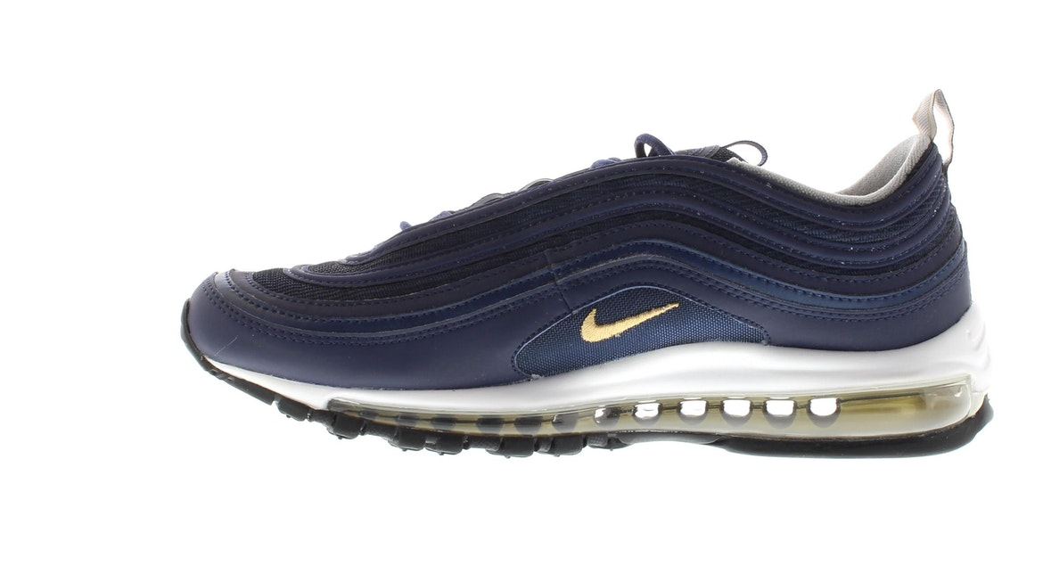 Nike Air Max 97 'Midnight Navy & Metallic Gold' Release Date