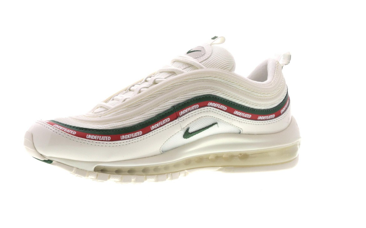 nike air max 97 blanche undefeated
