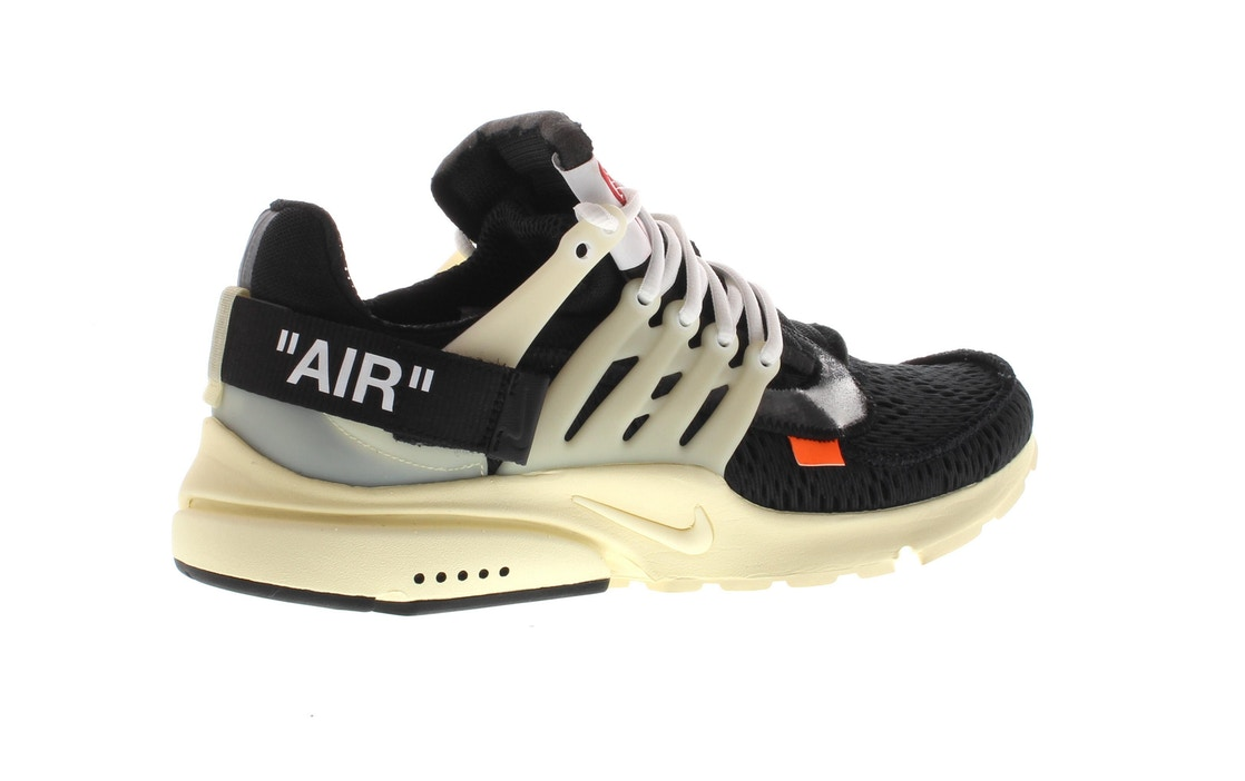 Air Presto Off-White - AA3830-001 04cecbcae