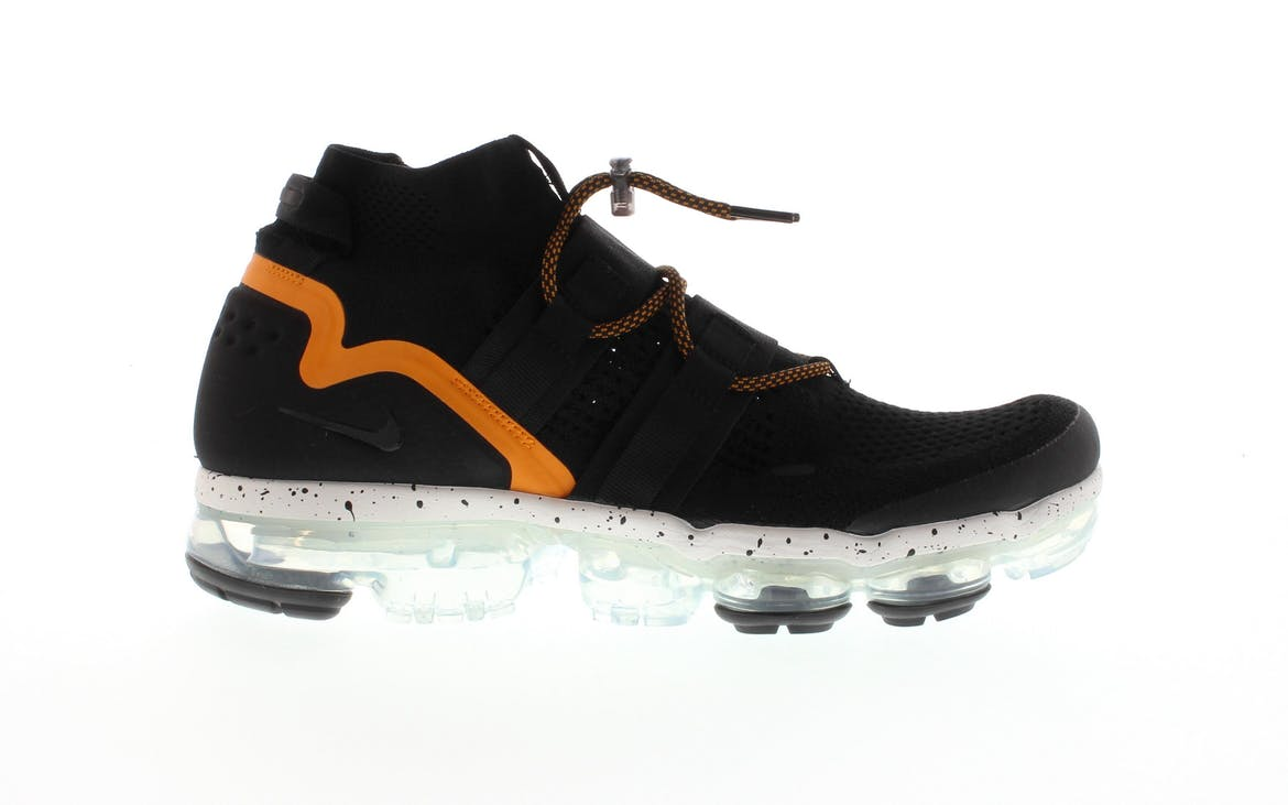 Air VaporMax Utility Black Orange Peel