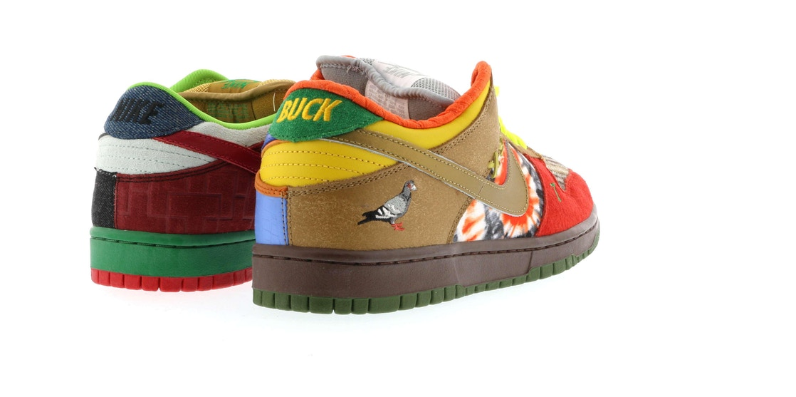 ea1d5f3dcdf5 Nike Dunk SB Low What the Dunk - 318403-141