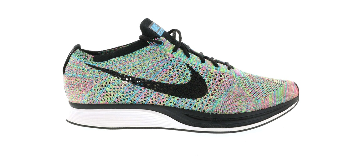 5b2366e4695 Sell. or Ask. Size 4. View All Bids. Nike Flyknit Racer Multi-Color ...