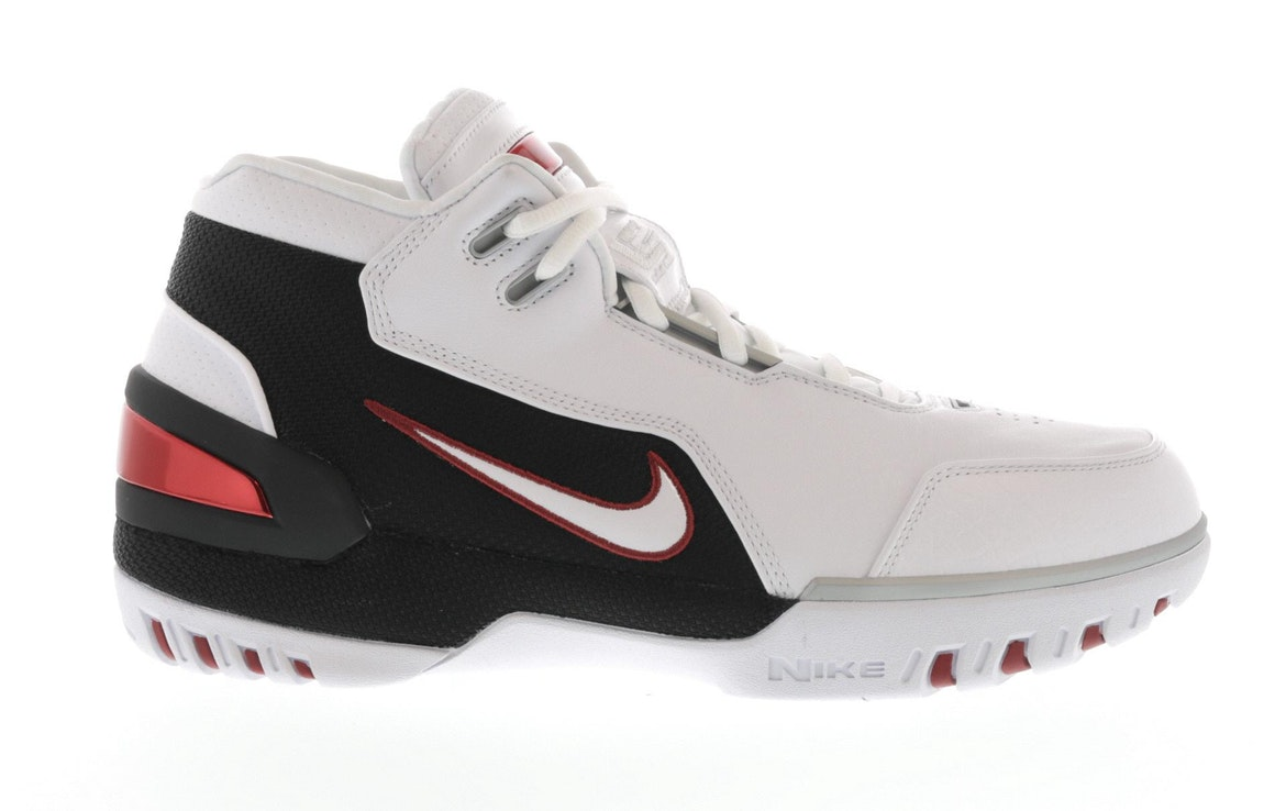 Air Zoom Generation White Black Retro