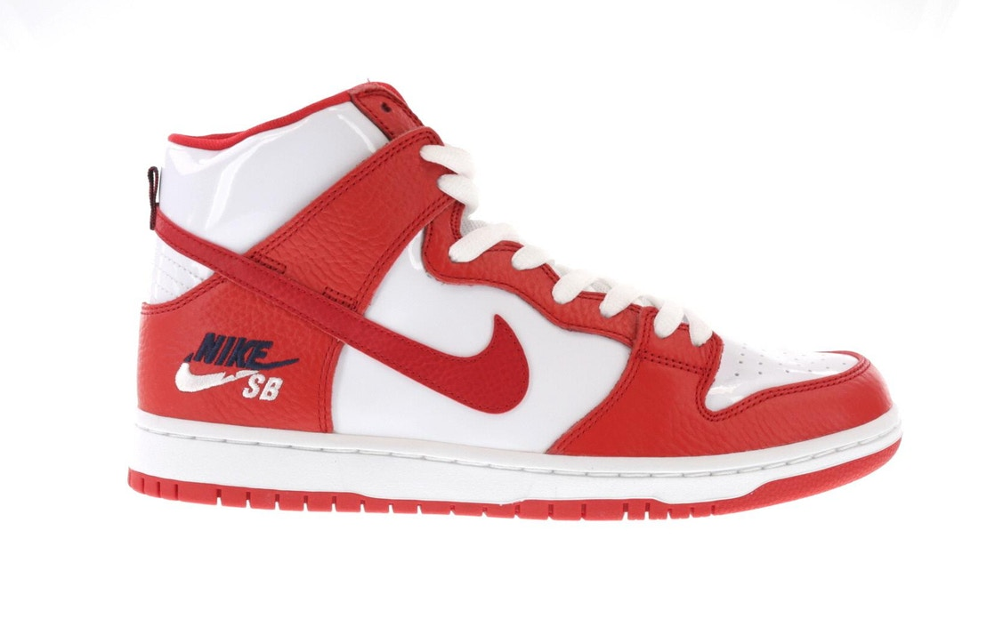 the latest 0edf9 46910 Nike SB Dunk High Future Court Red