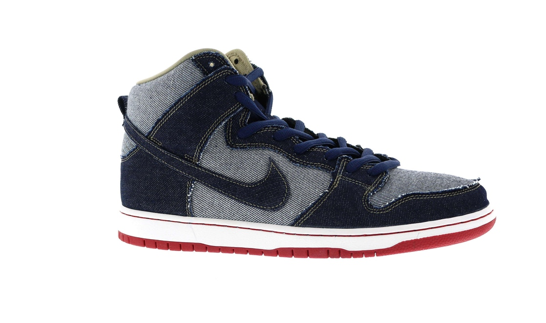 low priced ee480 ce21f Nike SB Dunk High Reese Forbes Denim - 881758-441