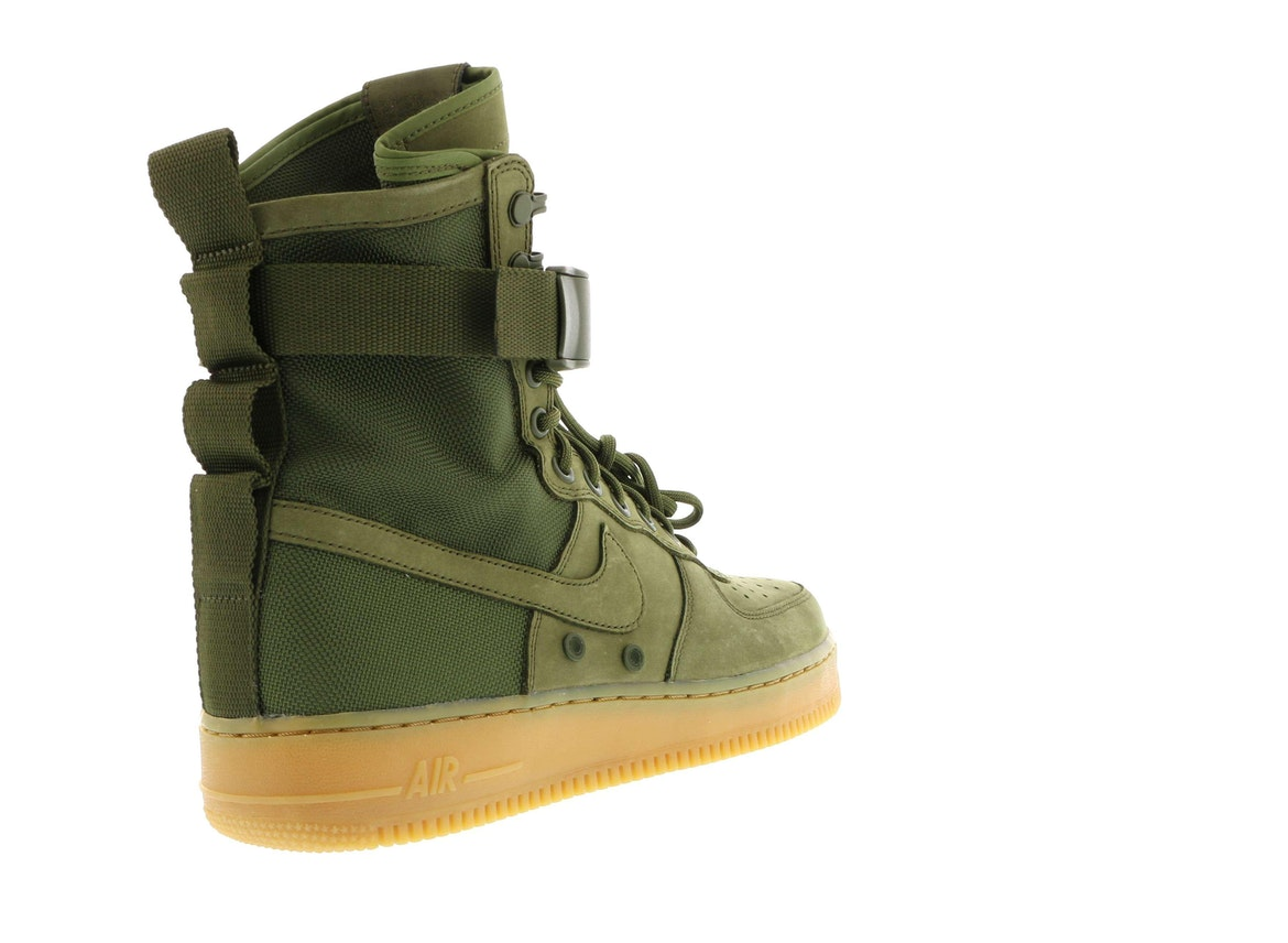 Nike Special Forces Air Force 1 Boots Faded OliveFaded 859202 339 Olive Green Authentic
