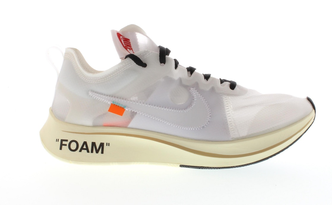 3b3aa4f970aa5 Nike Zoom Fly Off-White - AJ4588-100