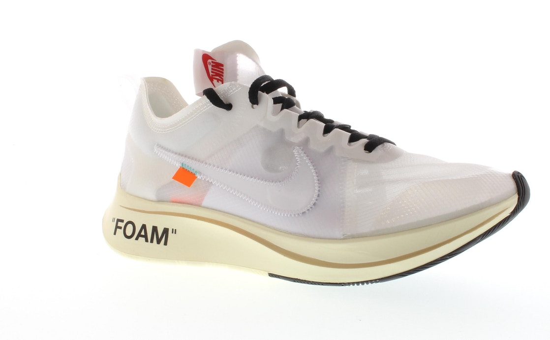 eb26ab9dd35 Nike Zoom Fly Off-White - AJ4588-100