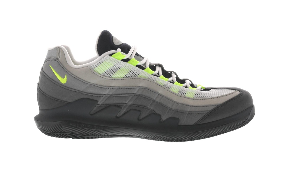 buy online a30a4 7e7fa NikeCourt Vapor RF Air Max 95 Greedy