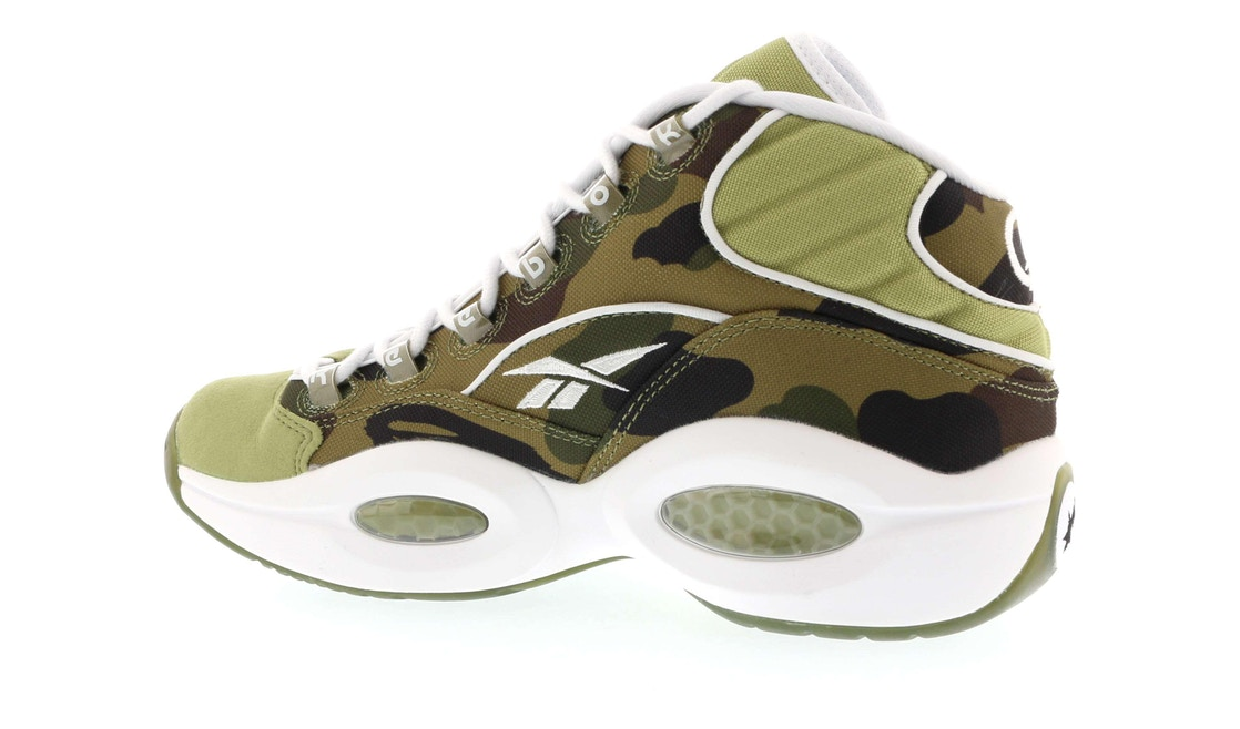 065fb01591e1 Reebok Question Mid Mita X Bape 1st Camo - BD4232