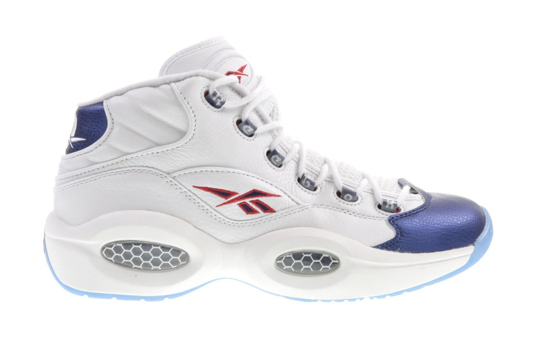 Sell. or Ask. Size  16. View All Bids. Reebok Question Mid Blue Toe 2016 db7a7a6ea